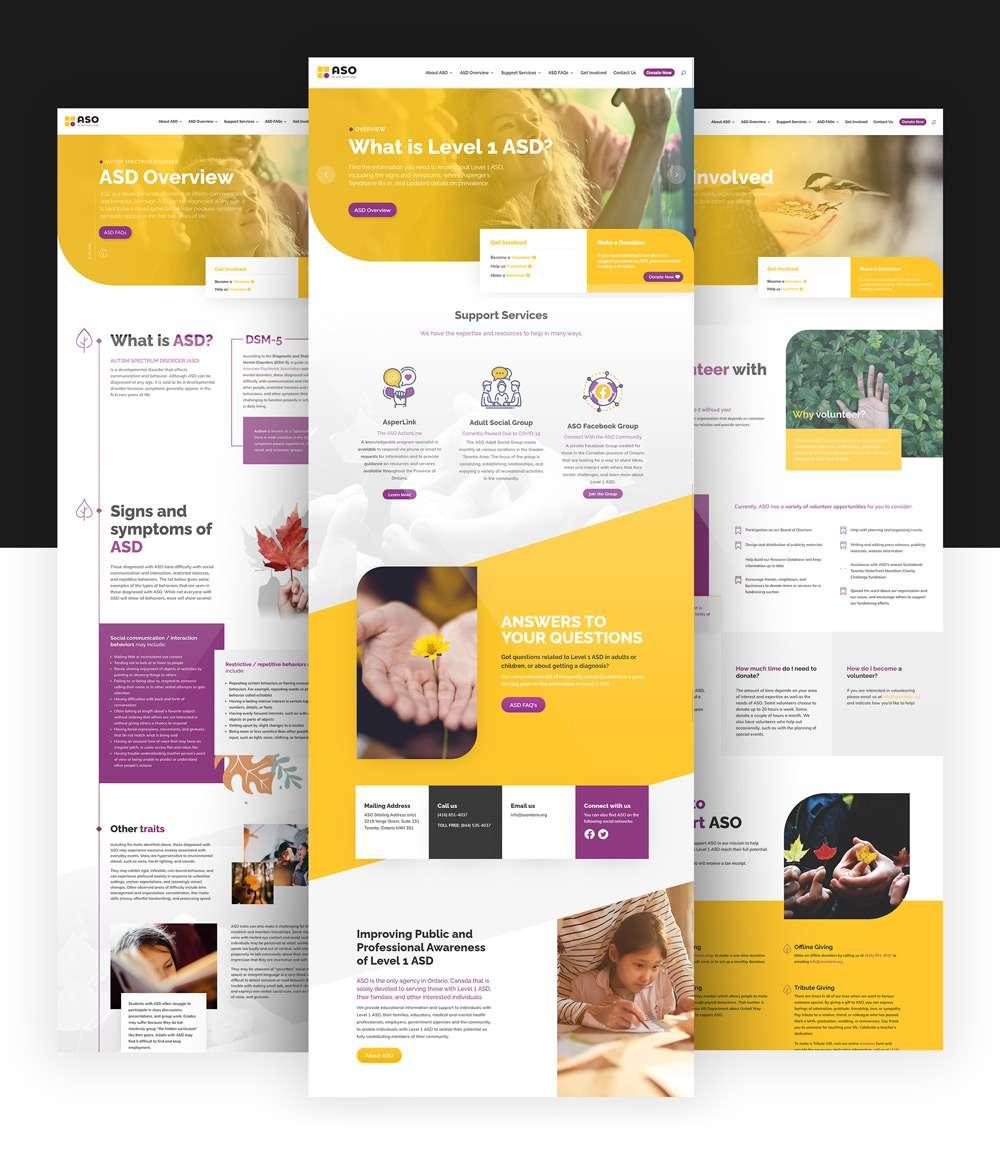 Qualiaris - ASO Webpage mockup
