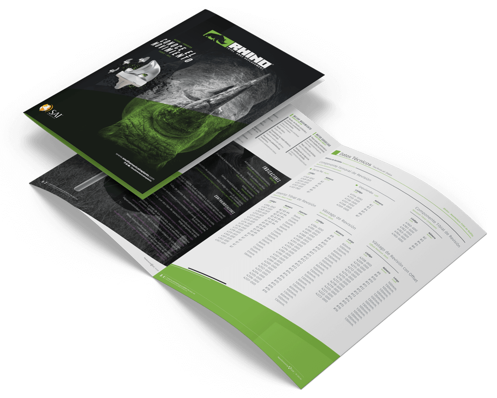 Qualiaris - South America Implants Graphic Design mockupgix-Brochure